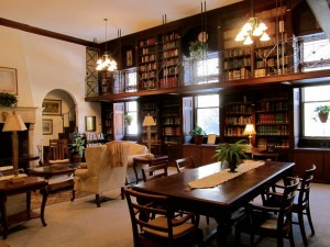 Library at St. Anthony Shrine in Ellicott City, MD