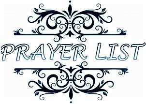 Monthly Intentions of Prayer OFS-YOUFRA